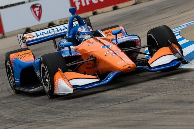 Scott Dixon wins the Detroit Grand Prix at Belle Isle. © [Andy Clary / Spacesuit Media]