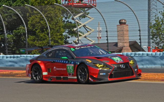 No. 15 3GT Racing Lexus captured pole.  [Joe Jennings Photo]