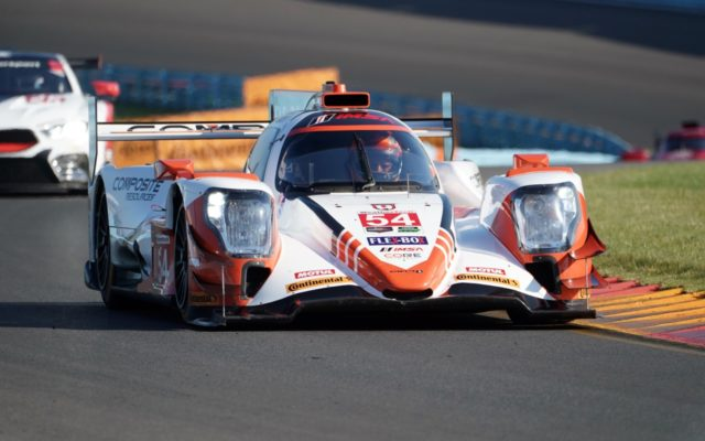 Pole winning CORE Autosport ORECA.  [Photo by Jack Webster]