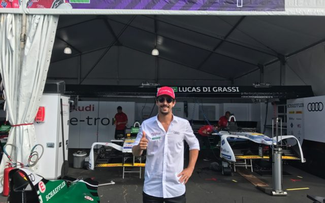 Race one winner, Lucas Di Grassi.  [Photo by Eddie LePine]