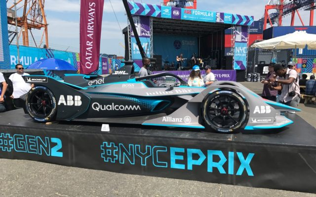 The next generation Formula E car.  [Photo by Eddie LePine]