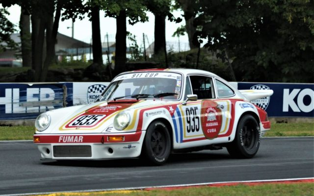 #935 Mark White (87 Porsche 911 Carrera)  [Dave Jensen Photo]