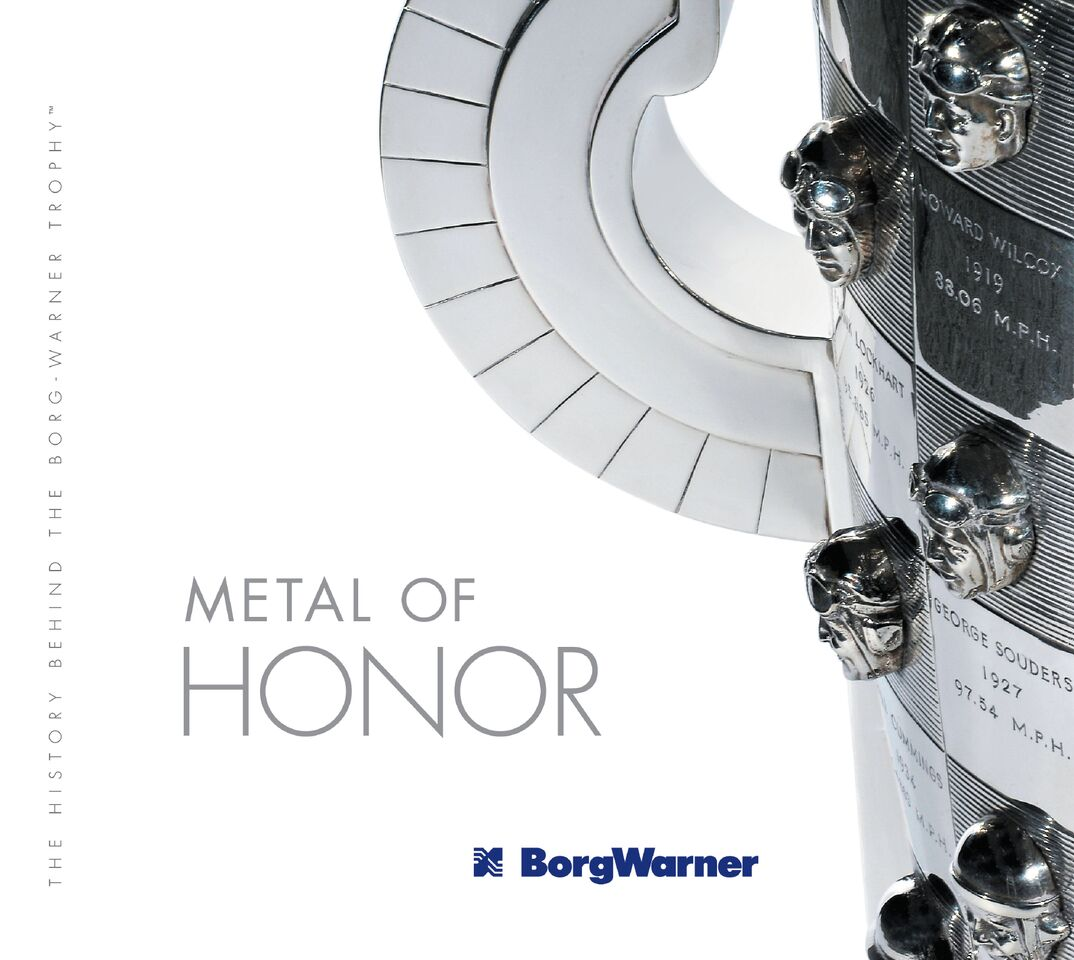 Book Review Metal Of Honor The History Borg Warner Trophy