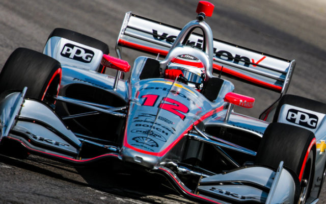 Team Penske's Will Power qualified second for the Honda Indy 200 at Mid-Ohio.  © [Andy Clary / Spacesuit Media]