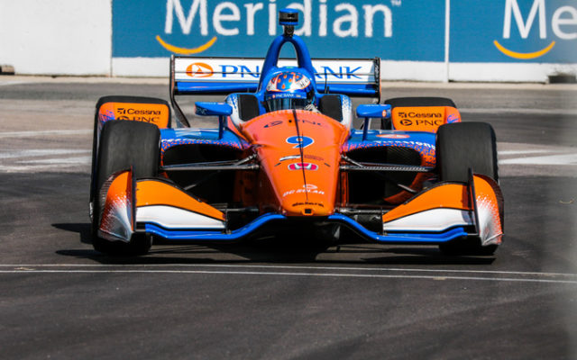 Scott Dixon will start second in the Honda Indy Toronto.  © [Andy Clary / Spacesuit Media]