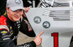 Josef Newgarden scored the pole for the Honda Indy Toronto. © [Andy Clary / Spacesuit Media]
