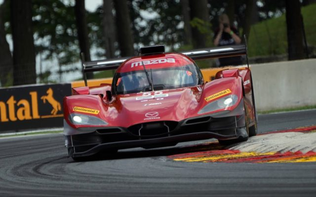 Mazda still looking for its first win.  [Photo by Jack Webster]