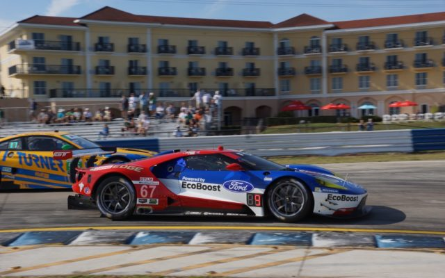 Ford leads the GTLM standings.  [Photo by Jack Webster]