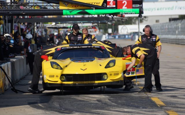 Corvette looks to overtake Ford in the final two races.  [Photo by Jack Webster]