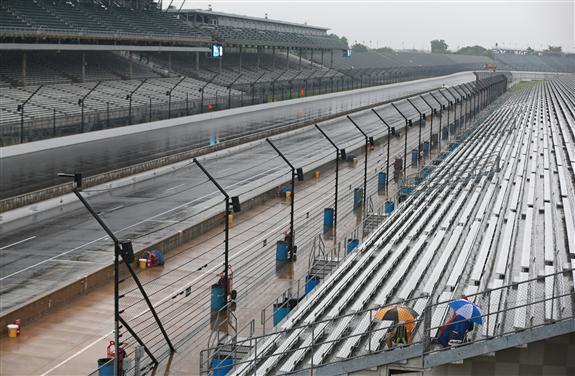 Brickyard 400 postponed to Monday, setting up NASCAR doubleheader