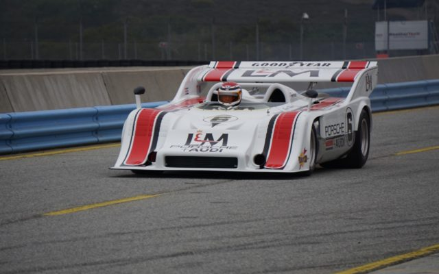 George Follmer in the L&M Porsche 917/10.  [Photo by Jack Webster]
