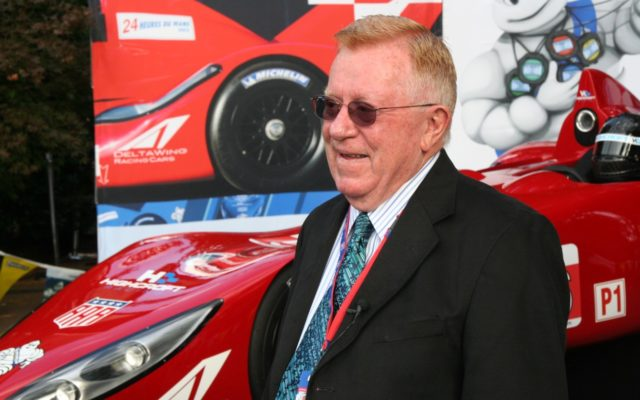 Dr. Don Panoz at the unveiling of the DeltaWing at Road Atlanta in 2011.  [Photo by Jack Webster]