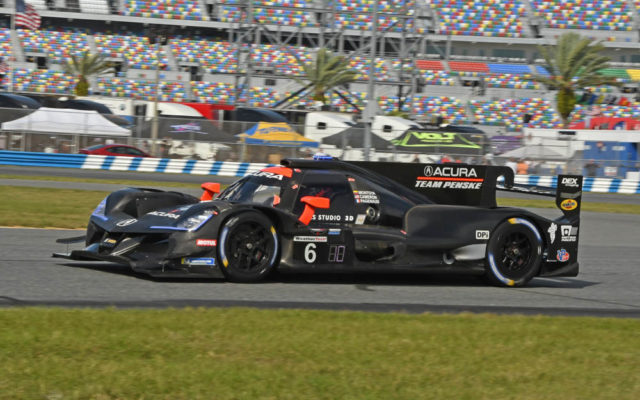 Team Penske Acura in action.  [Joe Jennings Photo]