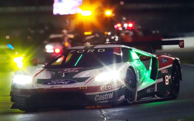 Ford GT at night.  [Photo by Jack Webster]