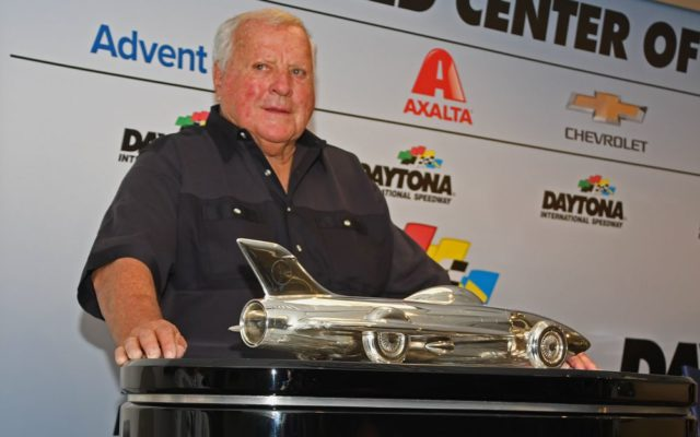 A. J. Foyt was among the celebrities on hand for the 500.  [Joe Jennings Photo]