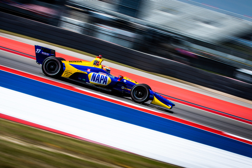 Alexander Rossi  at the Circuit of the Americas. © [Andy Clary / Spacesuit Media]