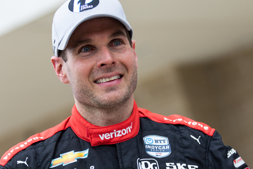 Will Power on pole at the Circuit of The Americas. © [Andy Clary / Spacesuit Media]
