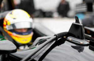 The Advanced Frontal Protection on Spencer Pigot's Indy Car. [Joe Skibinski Photo]
