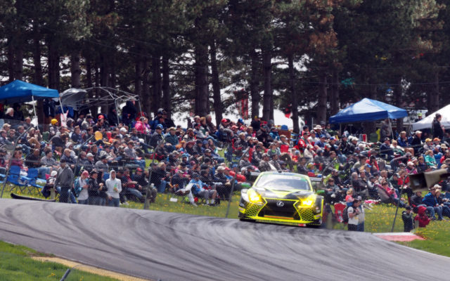 GTD winning Lexus.  [Photo by Jack Webster]