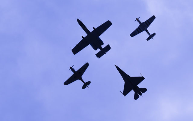 Flyover for the 103rd Running of the Indianapolis 500.  [John Wiedemann Photo]