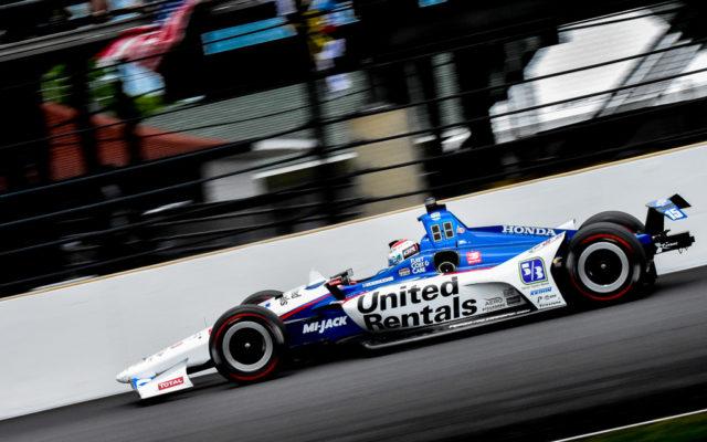Graham Rahal at Indianapolis.  [John Wiedemann Photo]