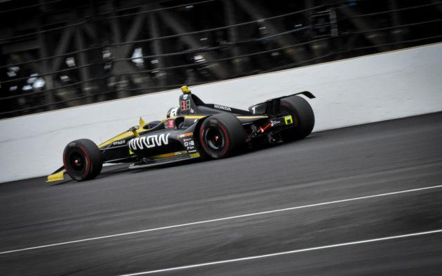 Rookie Marcus Ericsson in the Indianapolis 500.  [John Wiedemann Photo]
