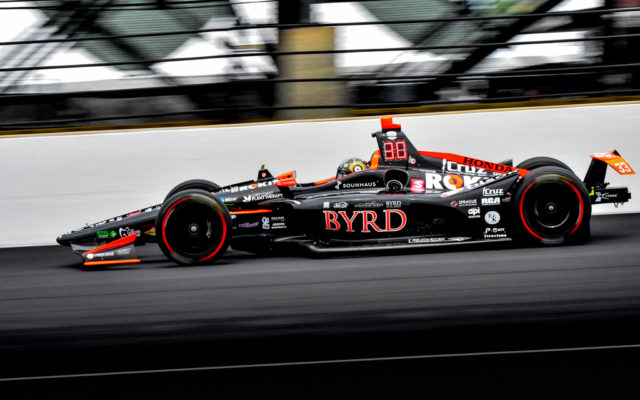 James Davison finished a career best 12th in the Indianapolis 500.  [John Wiedemann Photo]