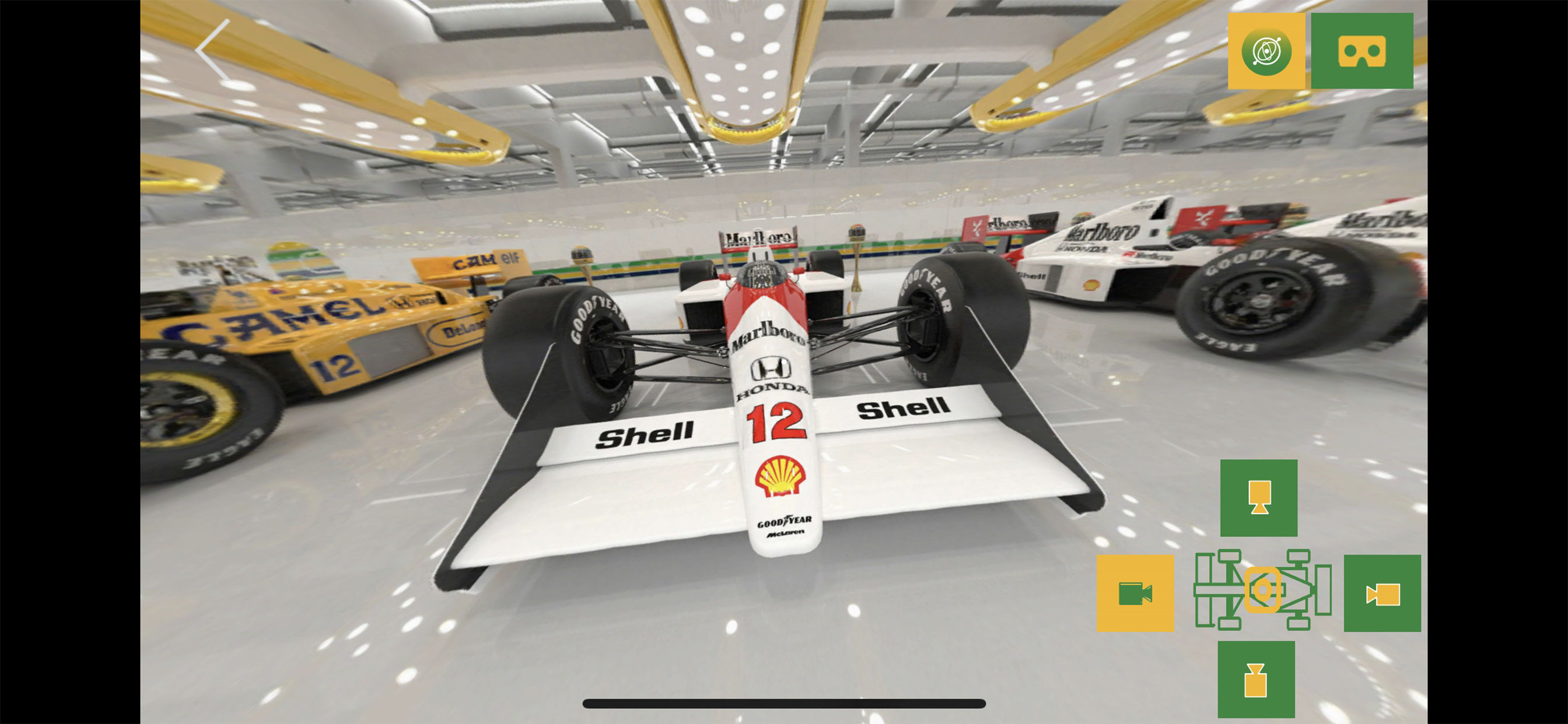 Senna 360 mobile apps and web experience.