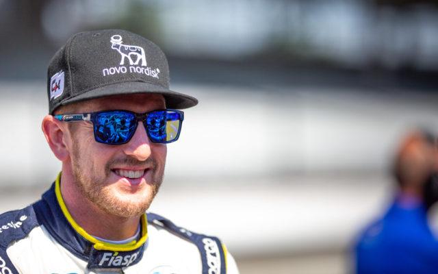 Charlie Kimball – Indianapolis Motor Speedway.  © [Jamie Sheldrick/ Spacesuit Media]