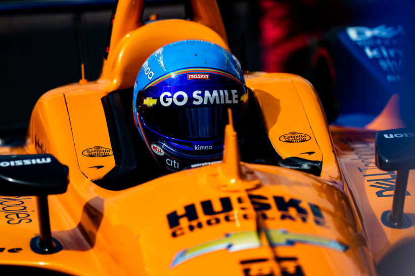 Fernando Alonso - Indianapolis Motor Speedway. © [Andy Clary/ Spacesuit Media]