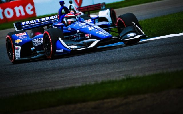Ed Jones – INDYCAR Grand Prix.  © [Jamie Sheldrick/ Spacesuit Media]