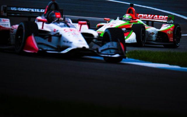 Marco Andretti & Patricio O'Ward – INDYCAR Grand Prix.  © [Jamie Sheldrick/ Spacesuit Media]