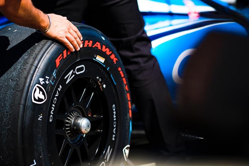 Firestone Tire. © [Jamie Sheldrick/ Spacesuit Media]
