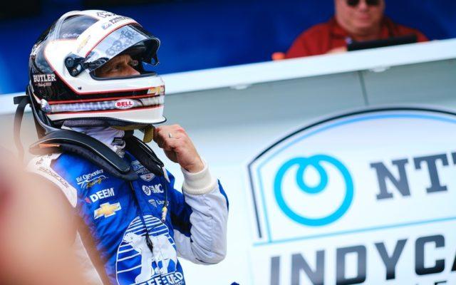 Ed Carpenter – Indianapolis Motor Speedway.  © [Jamie Sheldrick/ Spacesuit Media]