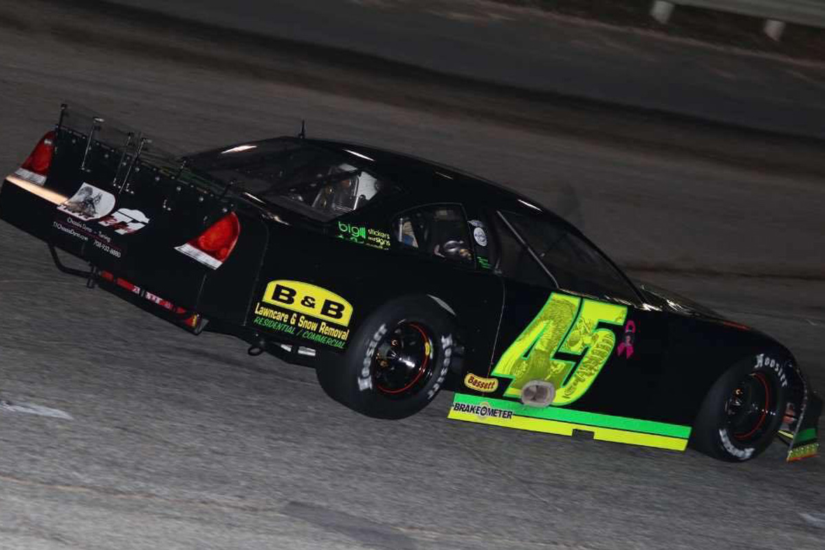 Rich Bickle looks for his first Milwaukee Mile win on Father's Day (Motorsports Marketing Resource Photo)