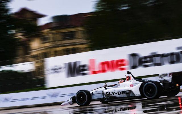 Santino Ferrucci at the Chevrolet Detroit Grand Prix.  © [Jamie Sheldrick/ Spacesuit Media]