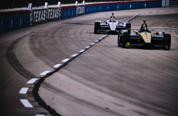 Marcus Ericsson on track at Texas Motor Speedway. © [Jamie Sheldrick/ Spacesuit Media]