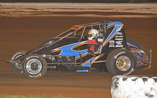 no. 53 – hard-luck driver Steve Buckwalter seemingly headed to win until last lap.  [Joe Jennings Photo]