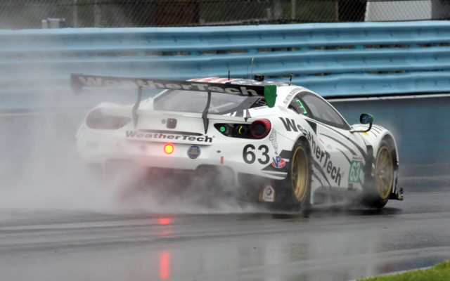 WeatherTech moment.  [Jack Webster Photo]