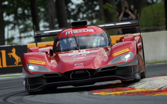 Mazda at Turn 6.  [Photo by Jack Webster]