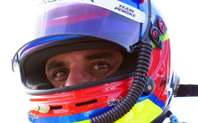 Juan Pablo Montoya.  [Photo by Jack Webster]