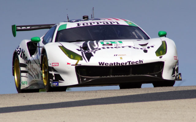 WeatherTech Ferrari.  [Photo by Jack Webster]