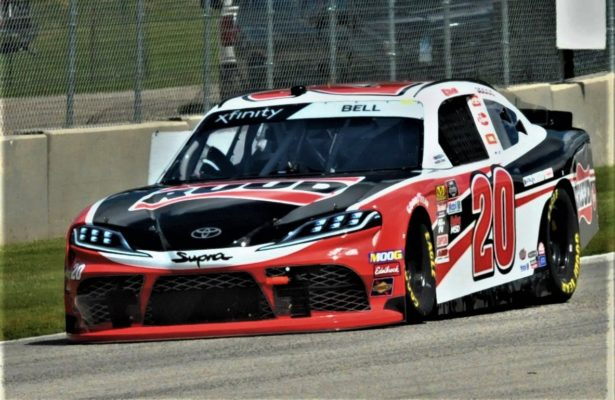 Christopher Bell during practice for the CTECH 180 at Road America. [Dave Jensen Photo]