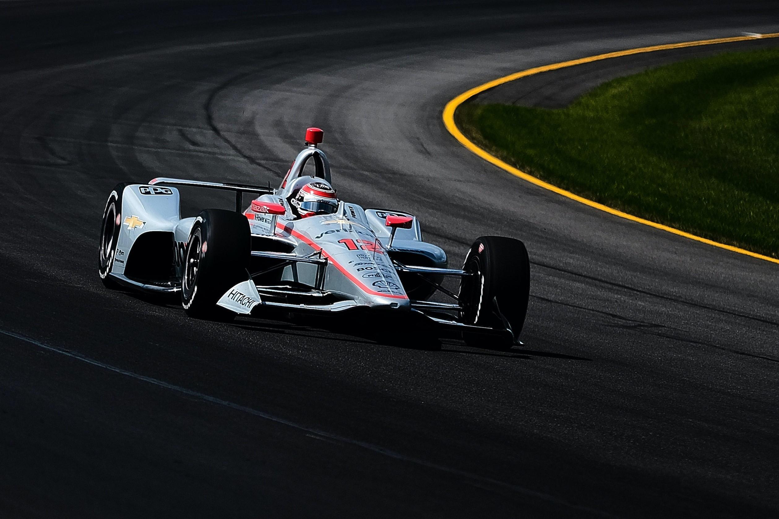 Will Power at Pocono Raceway. © [Jamie Sheldrick/ Spacesuit Media]