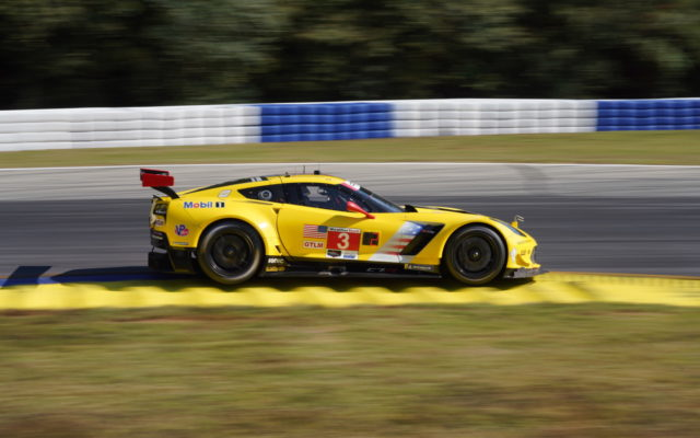 Last run for the C7.R Corvette.  [Photo by Jack Webster]