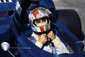 Francois Cevert ready to go at the Canadian Grand Prix in 1973.  [photo by Jack Webster]