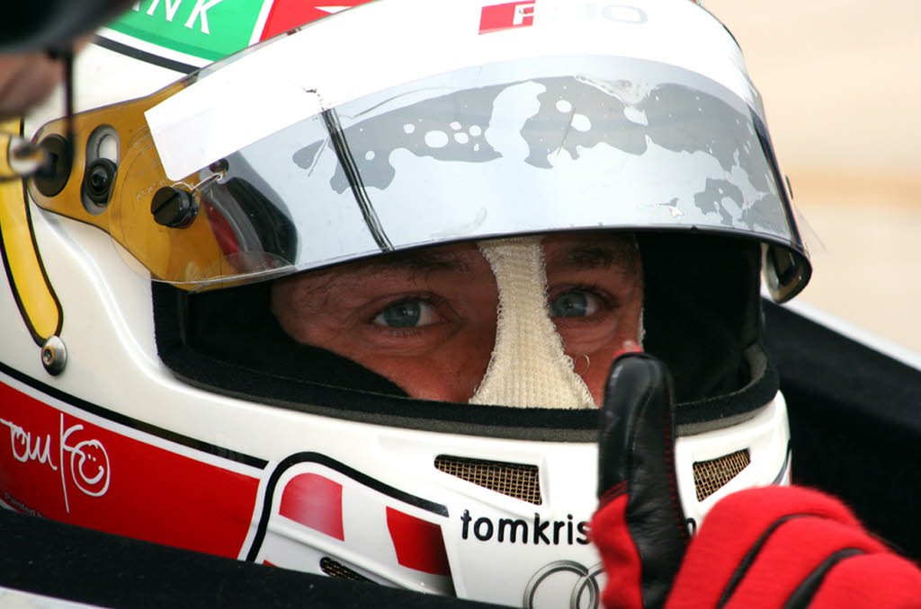 Tom Kristensen   [photo by Jack Webster]