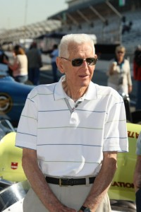 A.J. Watson at the Indianapolis Motor Speedway in 2009.  [Photo courtesy of the Indianapolis Motor Speedway]