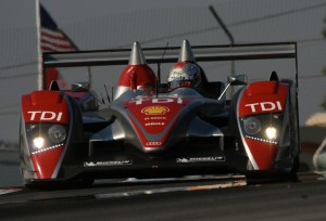 Dindo Capello behind the wheel of the Audi R10 at Mid-Ohio.  [Photo by Jack Webster]