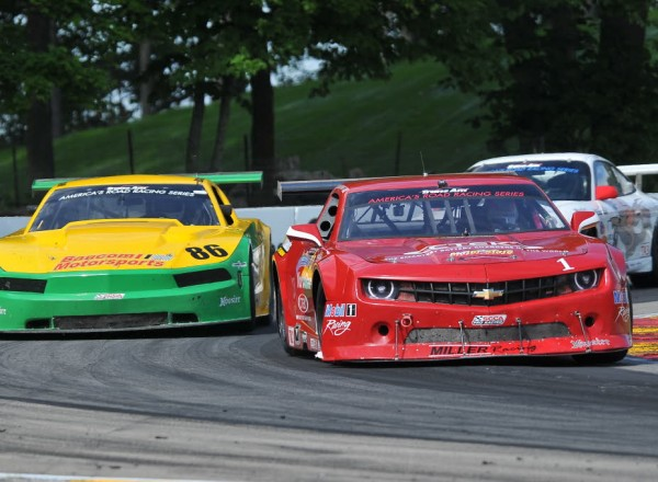 Cameron Lawrence was quick in early Trans-Am practice in his Chevrolet Camaro.  [John Wiedemann Photo]